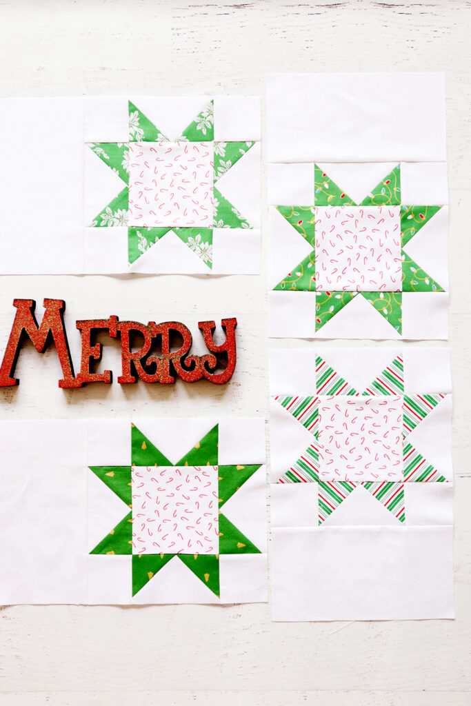 Jelly Snowflake Mystery Quilt Week 2
