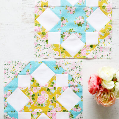 Rolling Star Quilt Blocks with Fat Quarter Shop