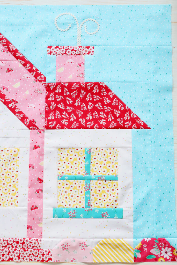 Quilter's Cottage Sew Along House Block Details