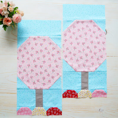 Quilter's Cottage Flowering Tree Quilt Blocks