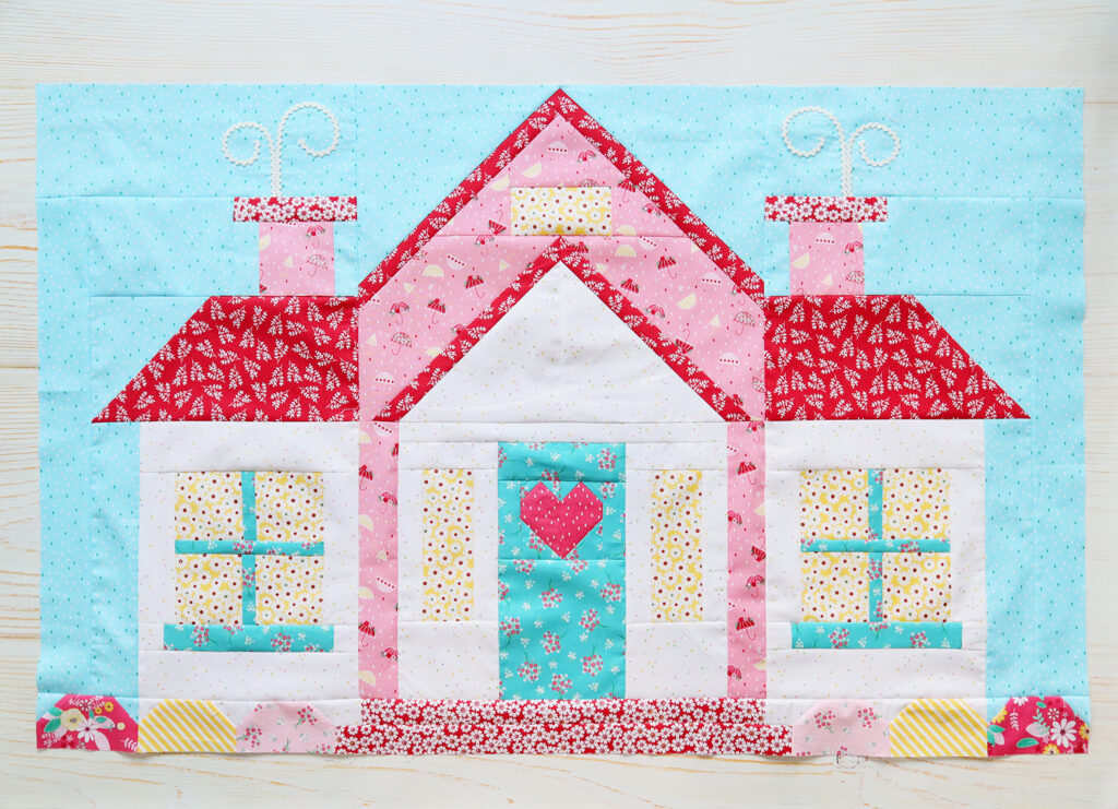 Quilter's Cottage Sew Along House Block