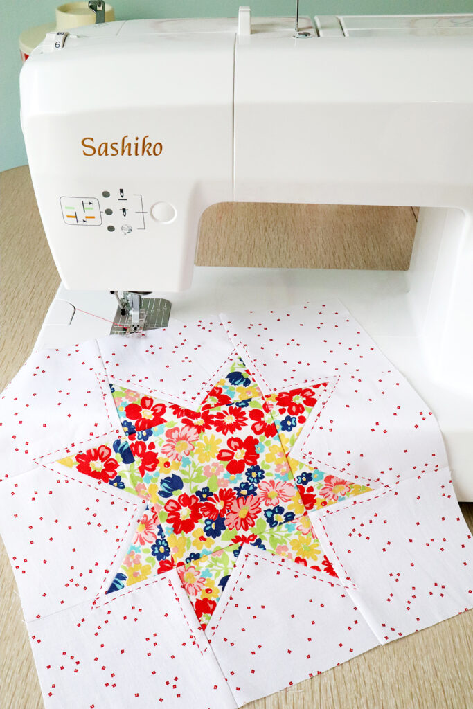 Stitching with the Baby Lock Sashiko Machine