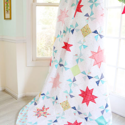 Scrappy Vintage Treasures Quilt