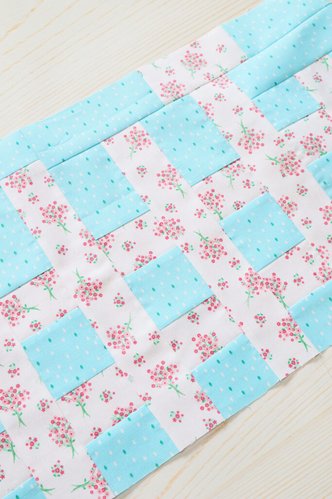 Quilters Cottage Sew Along Picket Fence