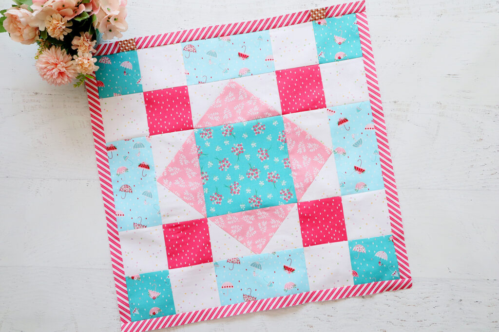 Quilter's Cottage Stash Buster Block