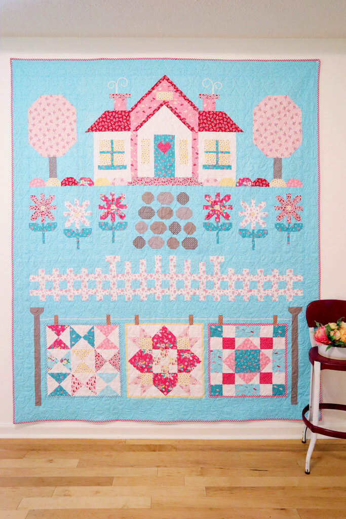 Quilter's Cottage Finished Quilt