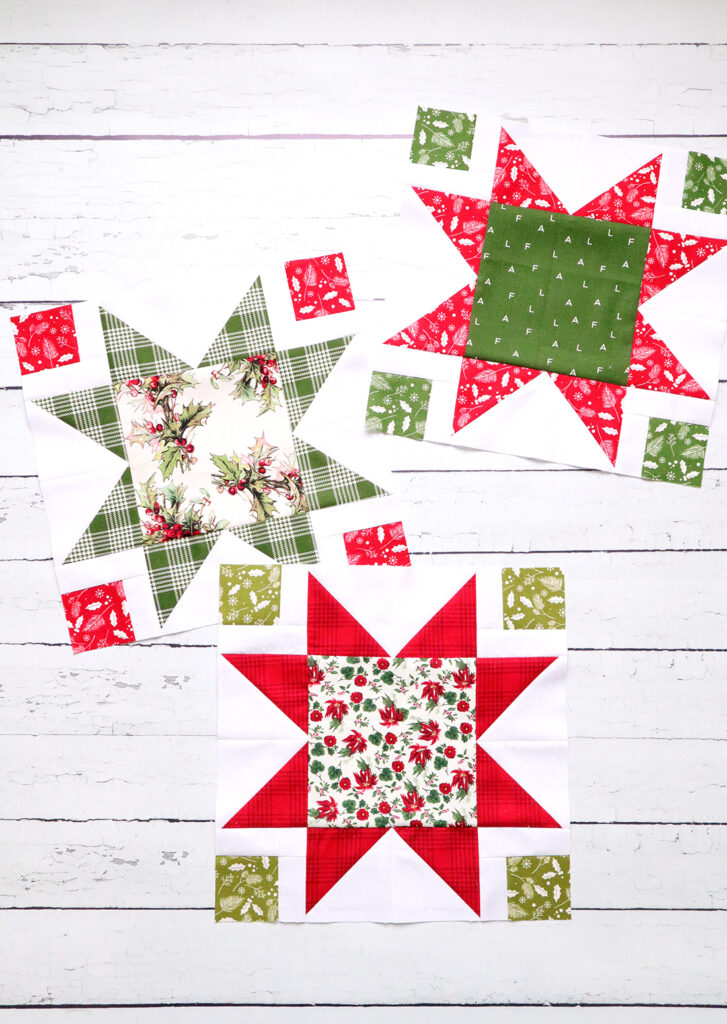 Stars and Windows Quilt Sew Along Star Blocks