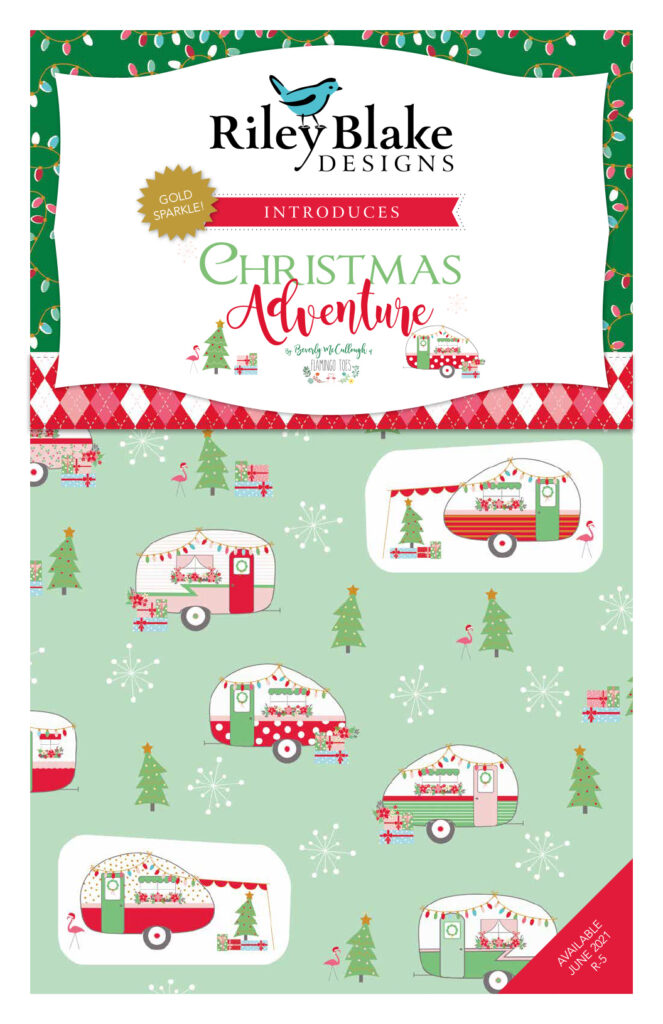 Christmas Adventure Fabric Collection Coming Soon