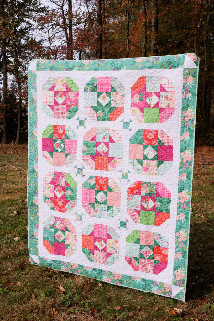 Tea Rose Quilt Pattern