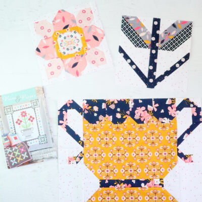 Prim and Proper Quilt Sew Along Week 4