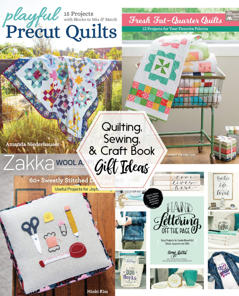Quilting, Sewing, and Craft Book Gift Ideas