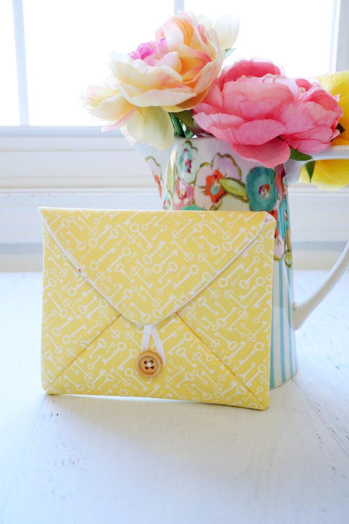 Love Note Fabric Envelope
