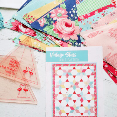 Vintage Stars Quilt Along – Cutting