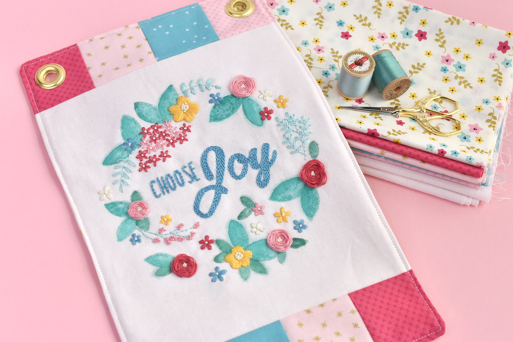 Choose Joy Mini Quilt from Wild Olive