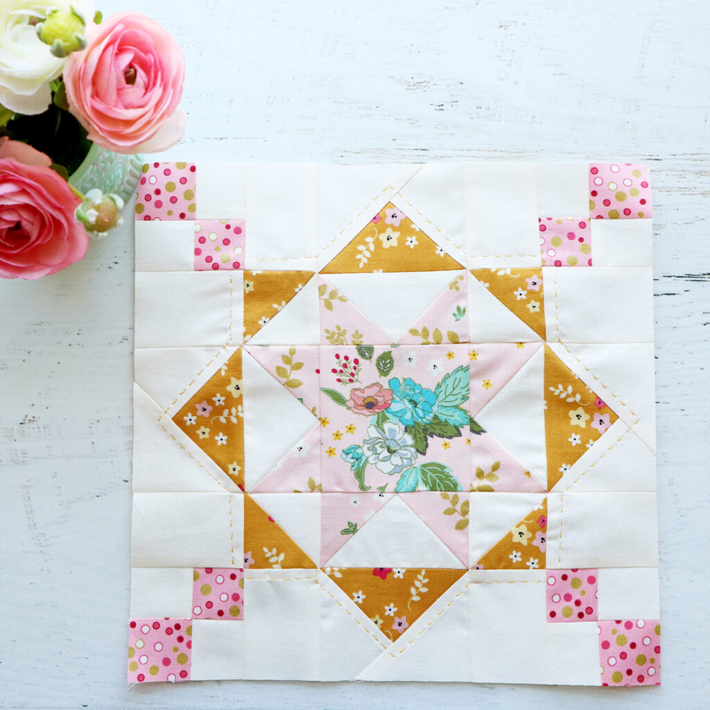 Reach for the Stars Quilt Block - RBD Block Challenge