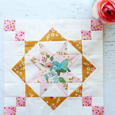 Reach for the Stars Quilt Block – RBD Block Challenge