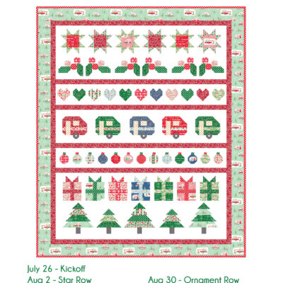 Christmas Adventure Quilt Sew Along Coming Soon!