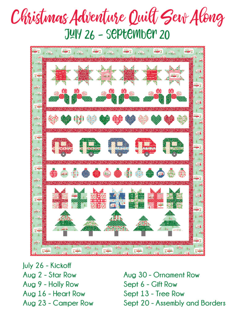 Christmas Adventure Quilt Sew Along Coming Soon