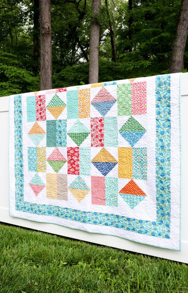 Jolly Bar Jump Free Quilt Pattern