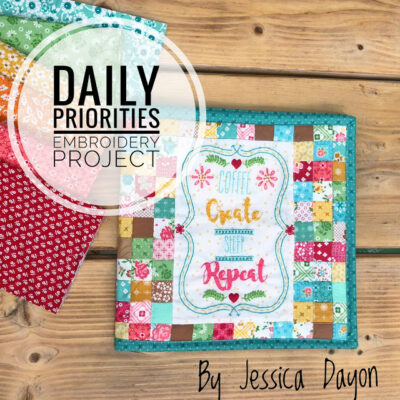 Daily Priorities Project Book from Jessica Dayon