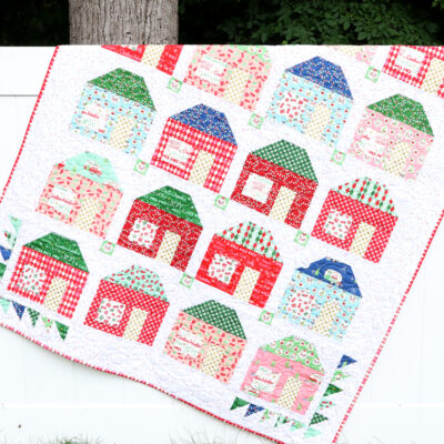 Merry Little Houses Quilt – Holiday Celebrations Book