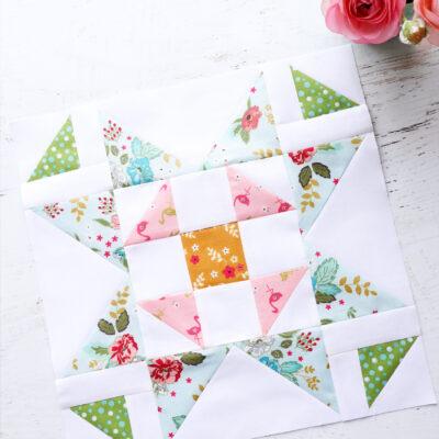 Shoo Fly Star Block – Swinging on a Star Sew Along