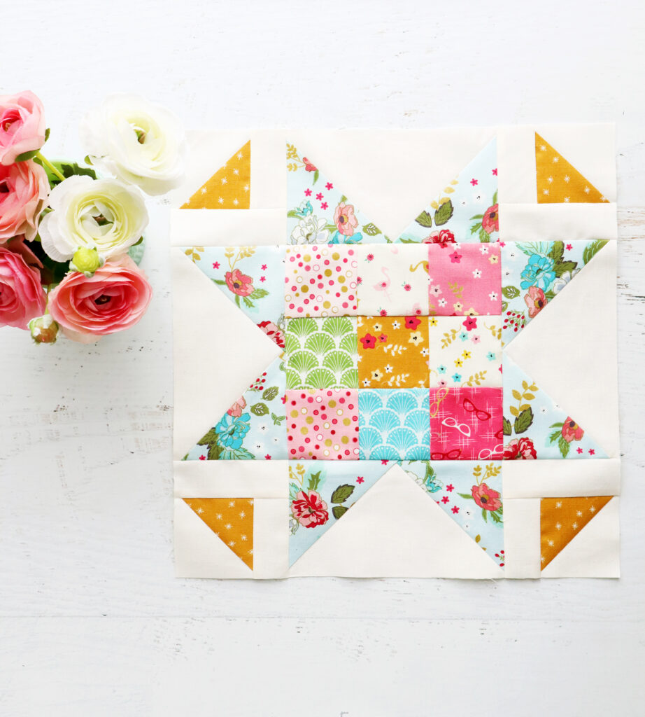 Small Patchwork Star Block - Swinging on a Star Sew Along