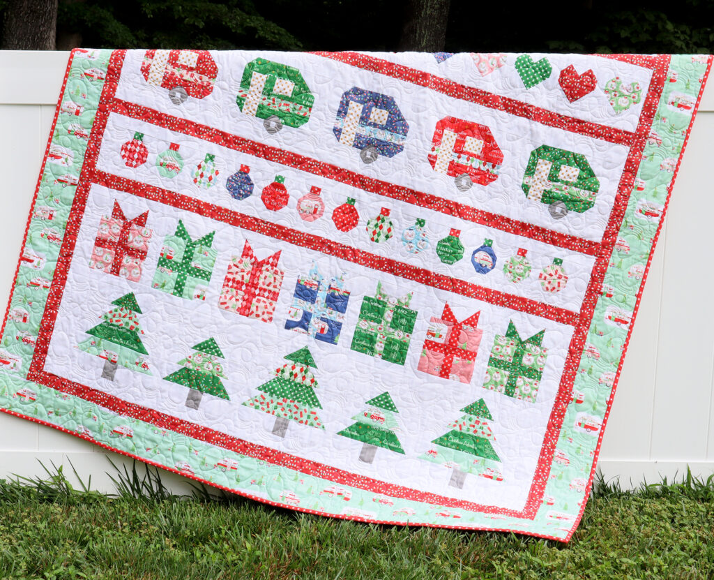 Borders and Finishing - Christmas Adventure Quilt