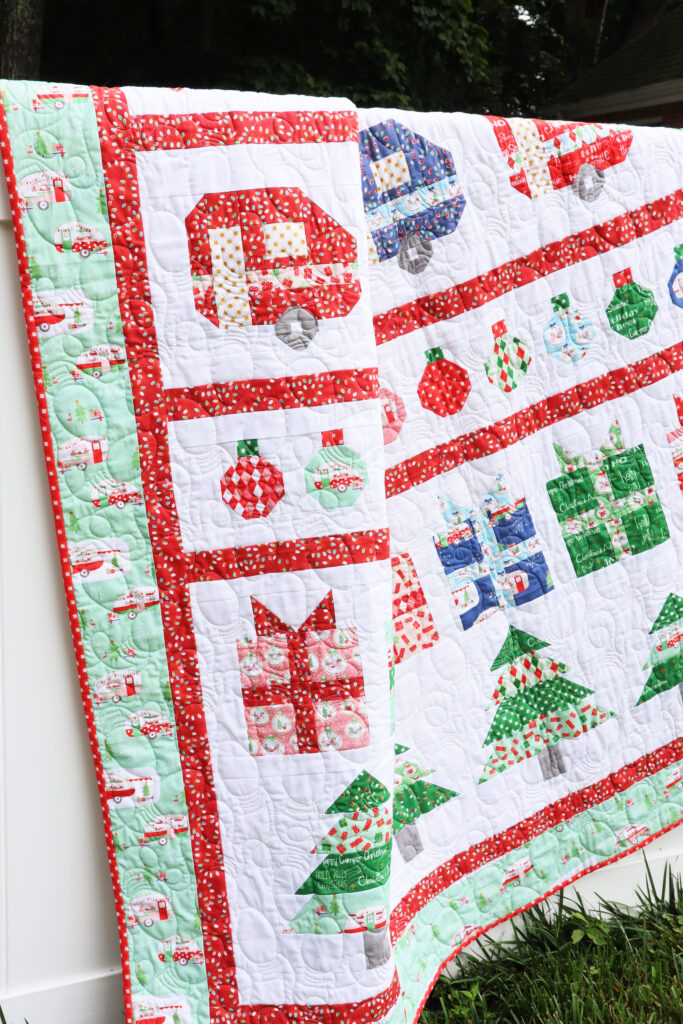 Christmas Adventure Row Quilt Sew Along Kickoff!