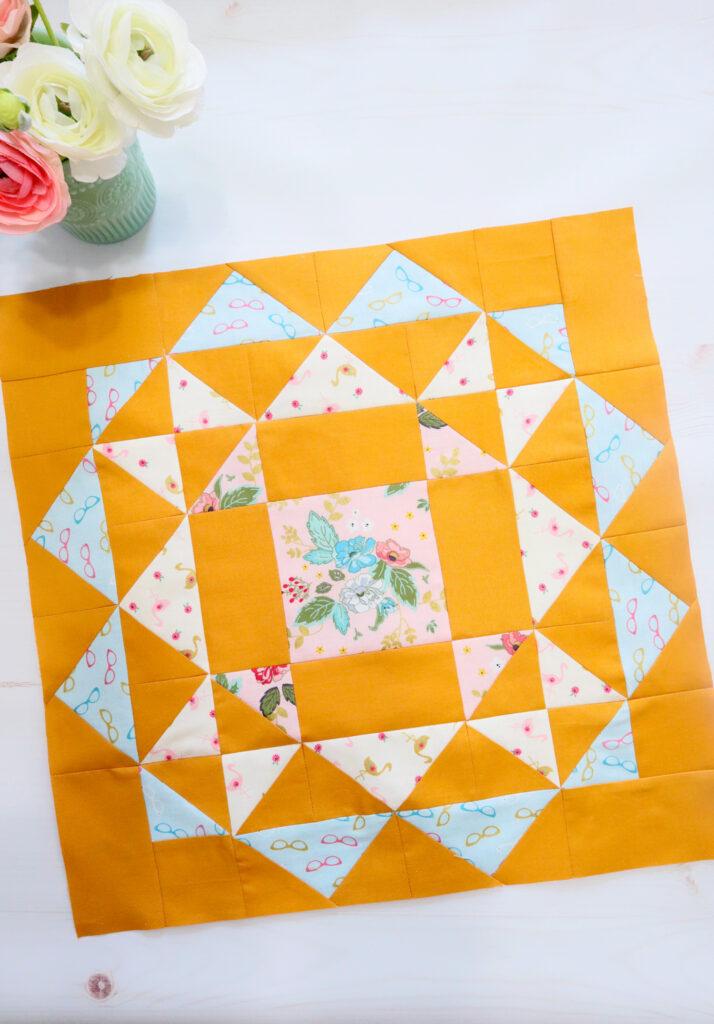 Kaleidoscope Runner Sew Along Big Block