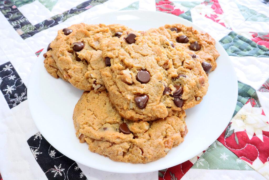 Keto Peanut Butter Cheesecake Cookies
