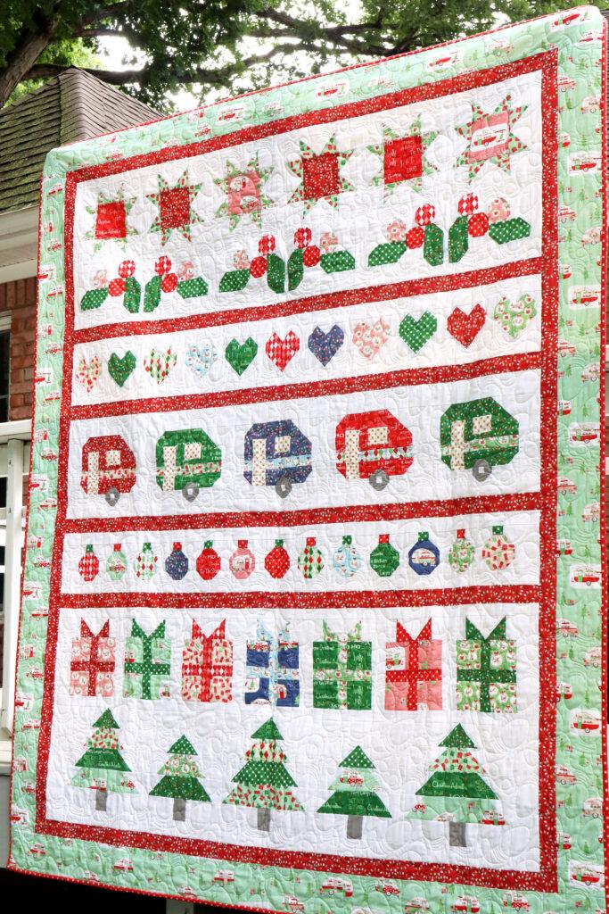 Christmas Adventure Row Quilt