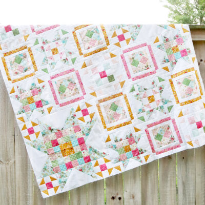 Quilt Top – Swinging on a Star Sew Along