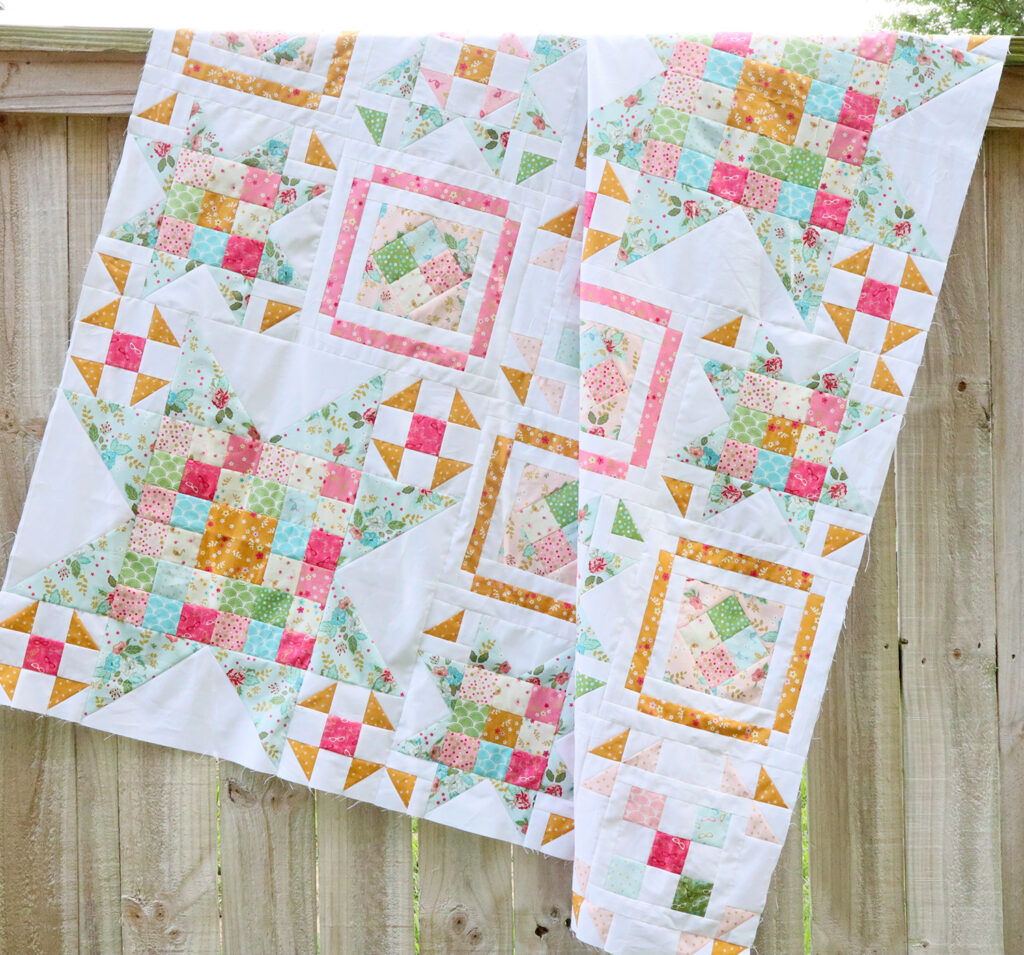 Quilt Top - Swinging on a Star Sew Along
