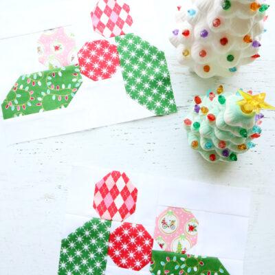 Holly Blocks – Christmas Adventure Quilt