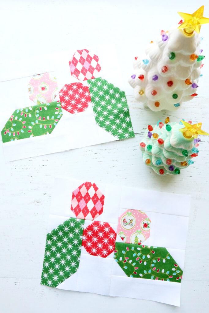 Holly Blocks - Christmas Adventure Quilt