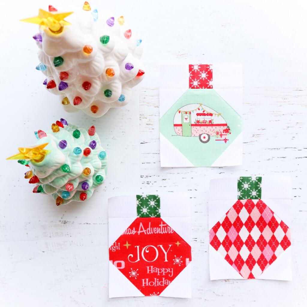 Ornament Blocks - Christmas Adventure Quilt