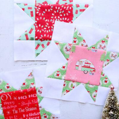 Star Blocks – Christmas Adventure Sew Along