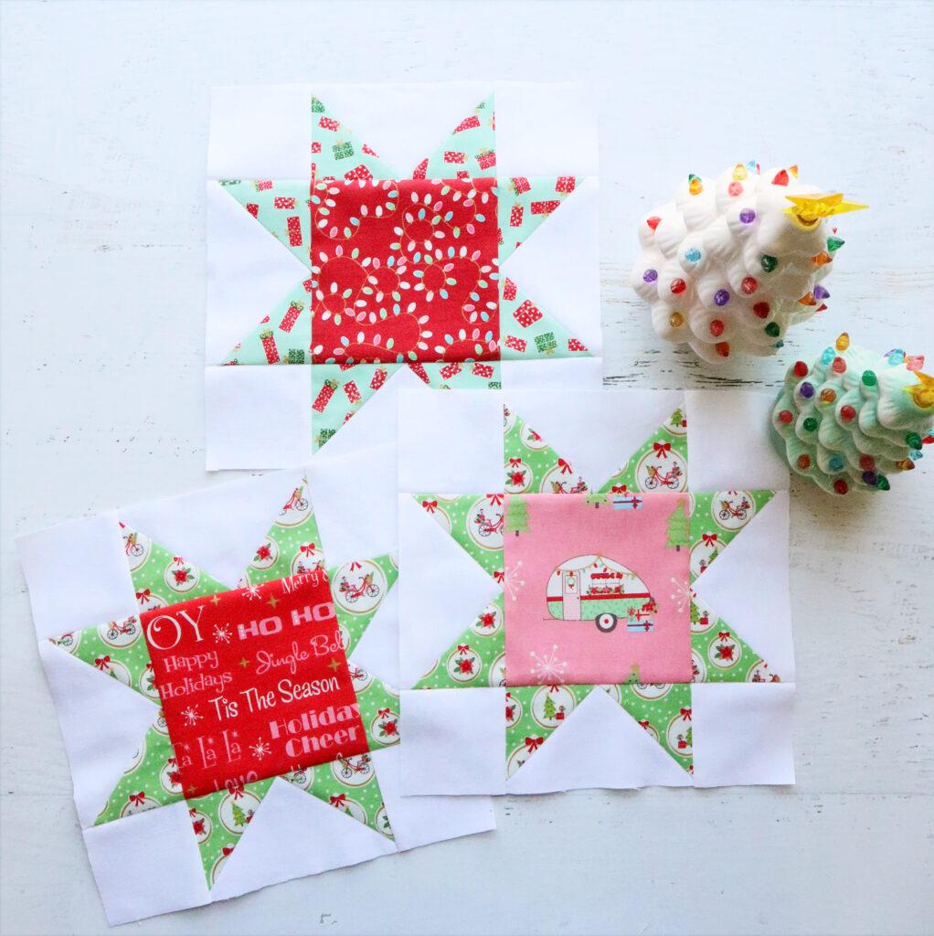 Star Blocks - Christmas Adventure Sew Along