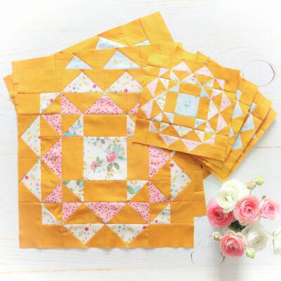 Kaleidoscope Sew Along – More Blocks