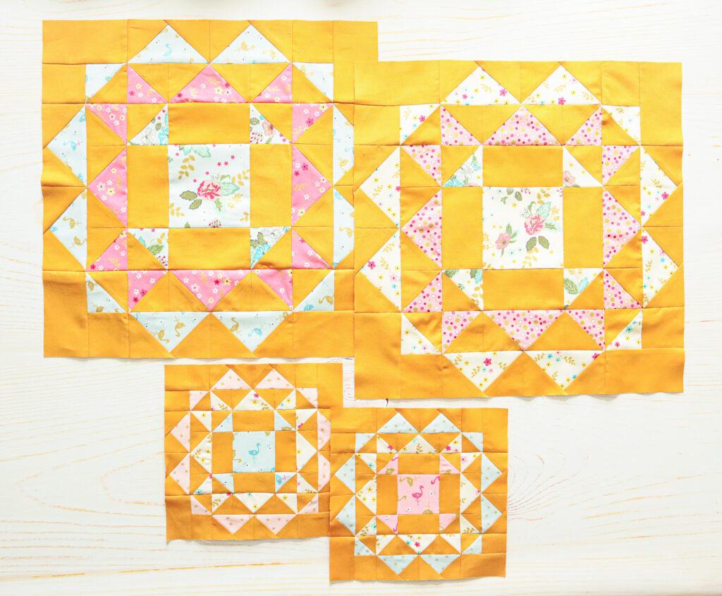Kaleidoscope Sew Along with More Blocks