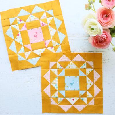 Kaleidoscope Sew Along – Small Blocks