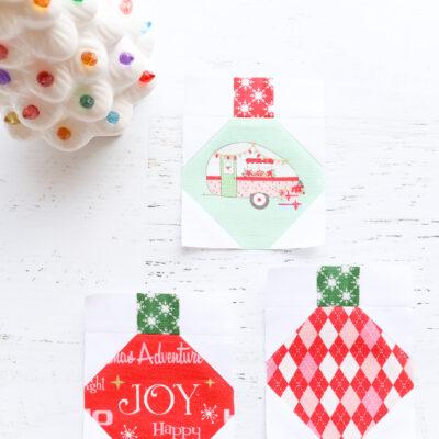 Ornament Blocks – Christmas Adventure Quilt