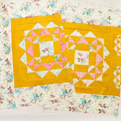 Kaleidoscope Sew Along Runner Top