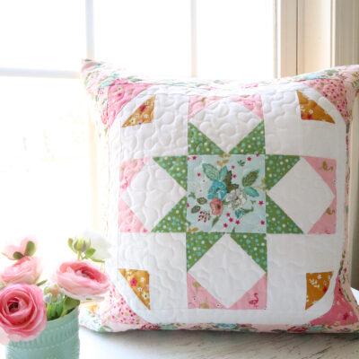 Moonlight Serenade Free Pillow Pattern
