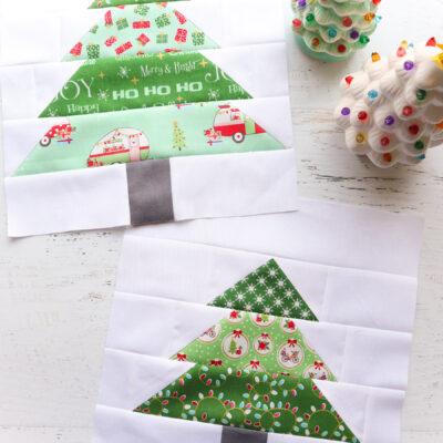 Tree Blocks – Christmas Adventure Quilt
