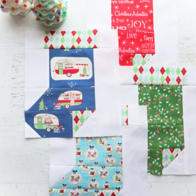 Stocking Blocks – All the Trimmings Quilt Along