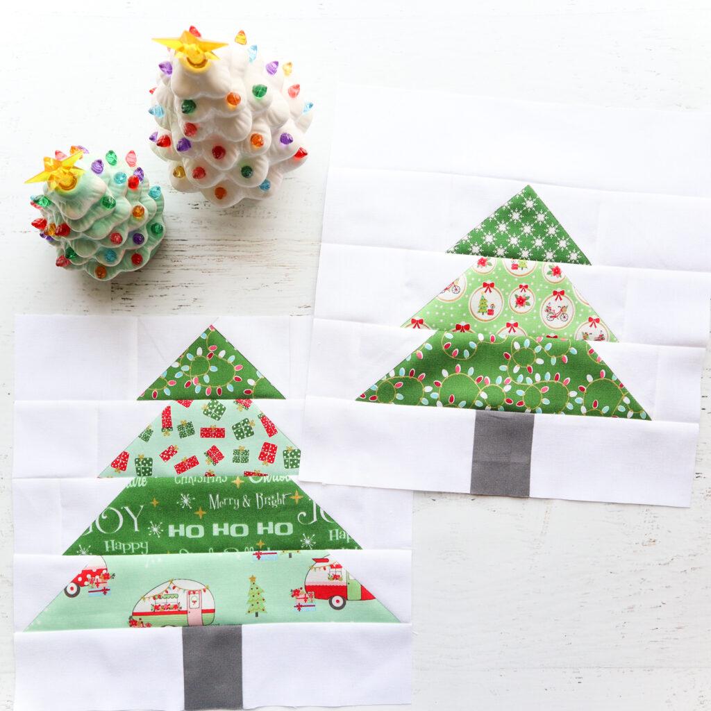 Tree Blocks - Christmas Adventure Quilt
