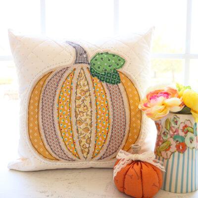Fall Pumpkin Pillow Sew Along – Week 1