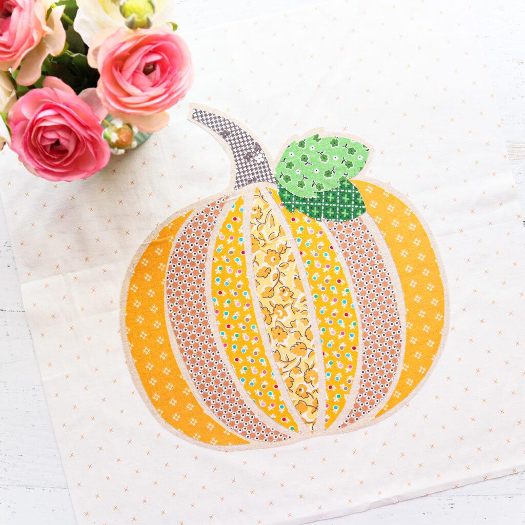Fall Pumpkin Pillow Sew Along - Week 1